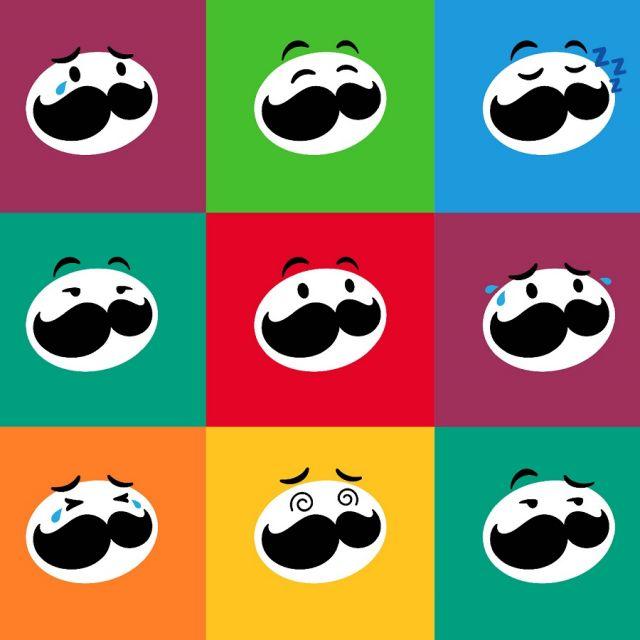 Mascote de Pringles, Sr. P mudou de aparência, mas não seu estilo