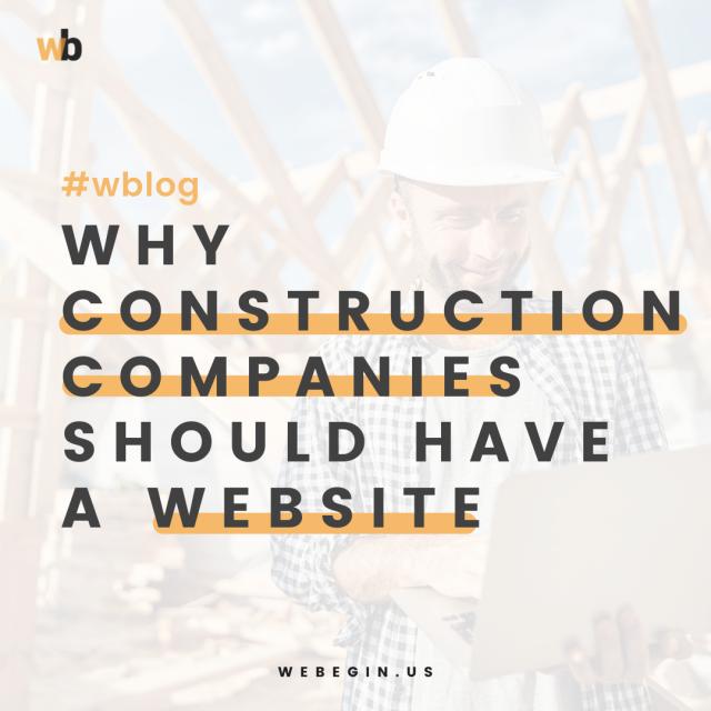 Por que as empresas de construção devem ter um site