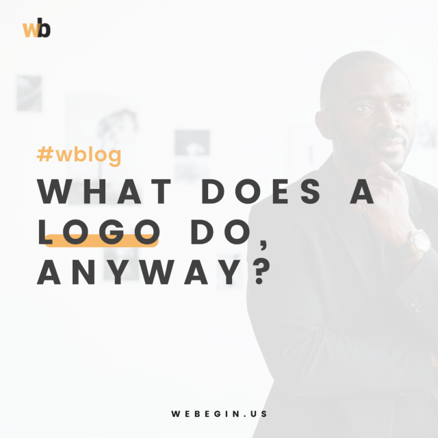 What does a logo do, anyway?