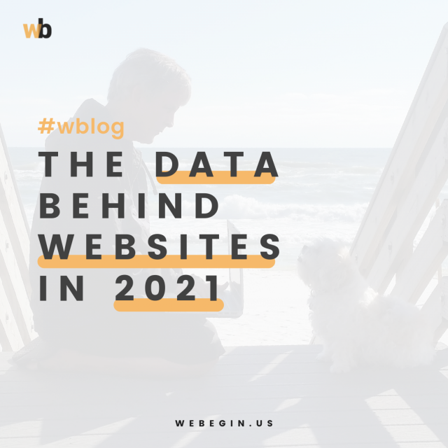 The Data Behind Websites in 2021