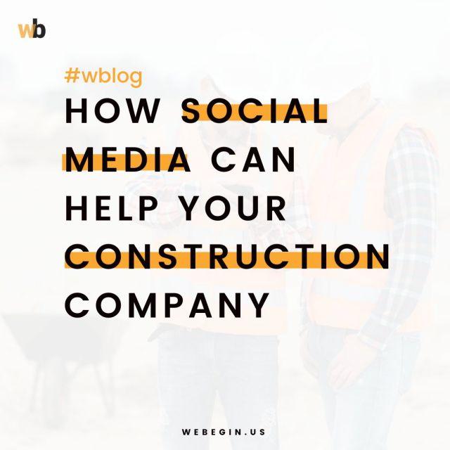 Como a mídia social pode ajudar a sua empresa de construção