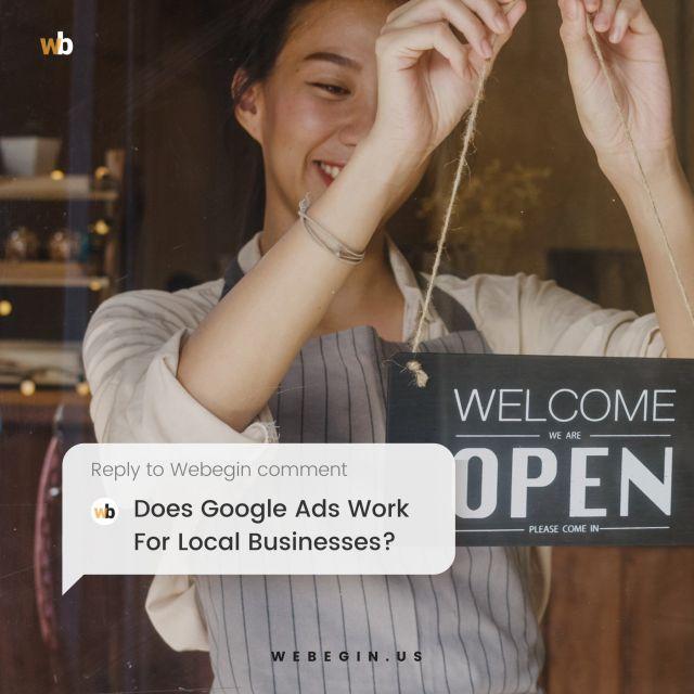 O Google Ads funciona para empresas locais?